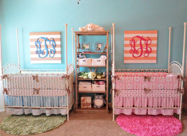 Deco chambre jumeaux fille garçon - Idées de tricot gratuit