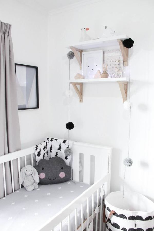 Deco chambre bebe blanche