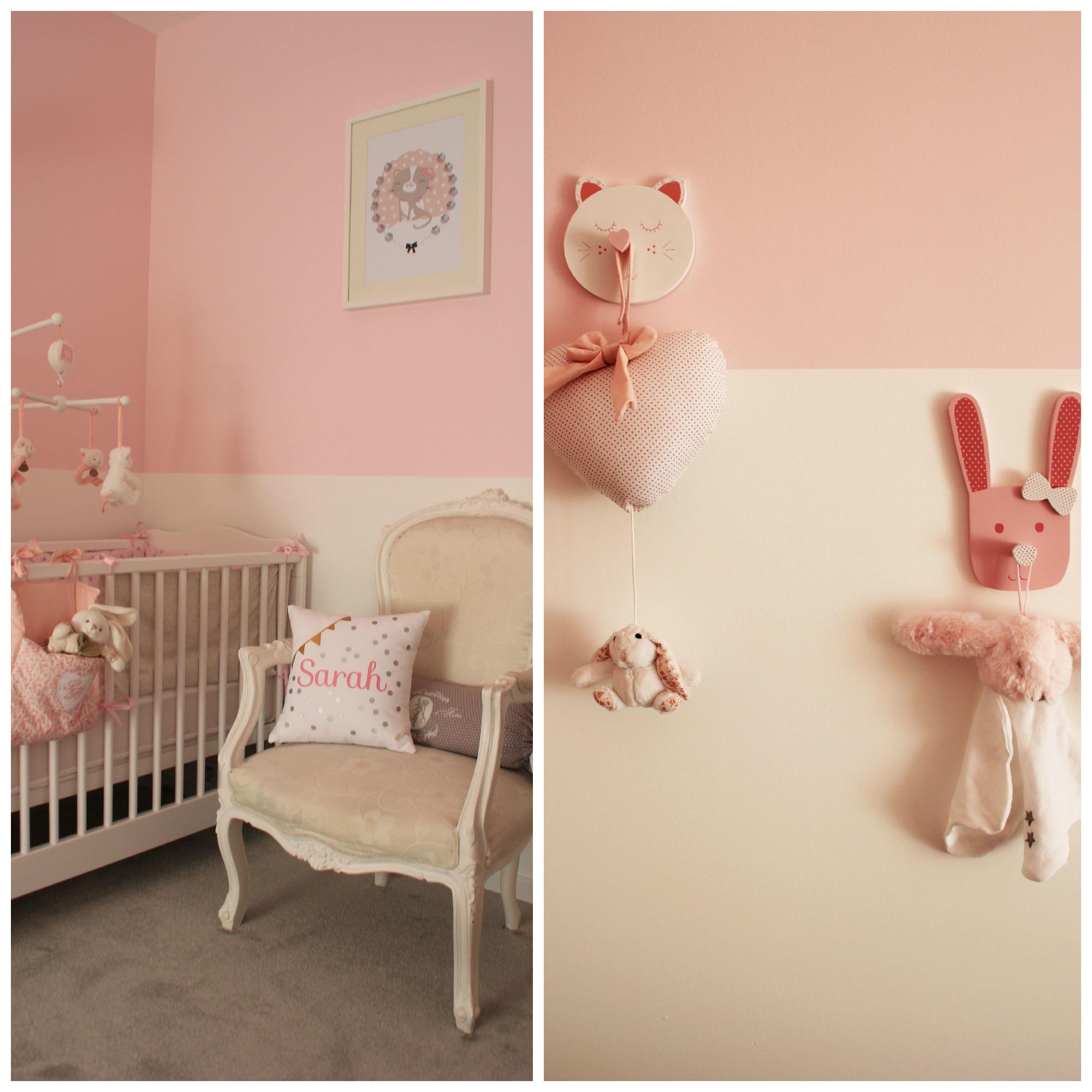Décoration chambre bébé fille romantique - Idées de tricot gratuit