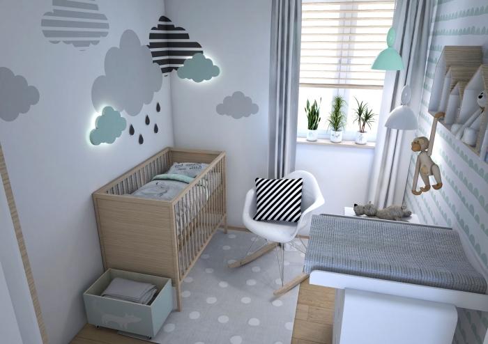 am nagement chambre b b 3d id es de tricot gratuit. Black Bedroom Furniture Sets. Home Design Ideas