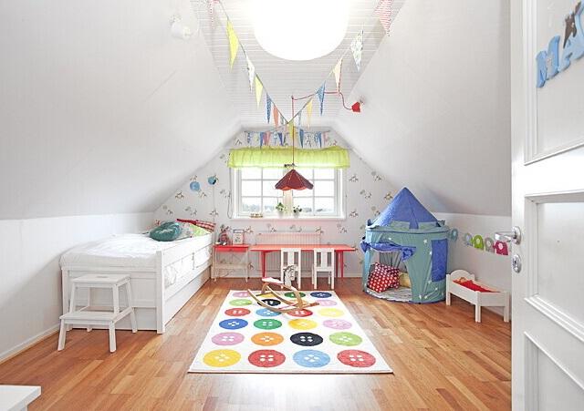 Aménager chambre bébé sous combles - Idées de tricot gratuit