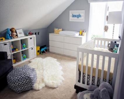 Chambre bebe gris et blanc - Idées de tricot gratuit