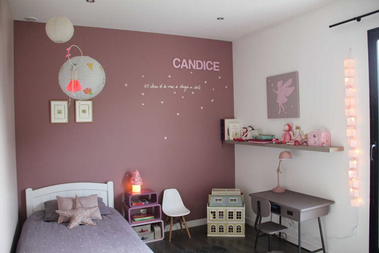Decoration chambre bebe fushia