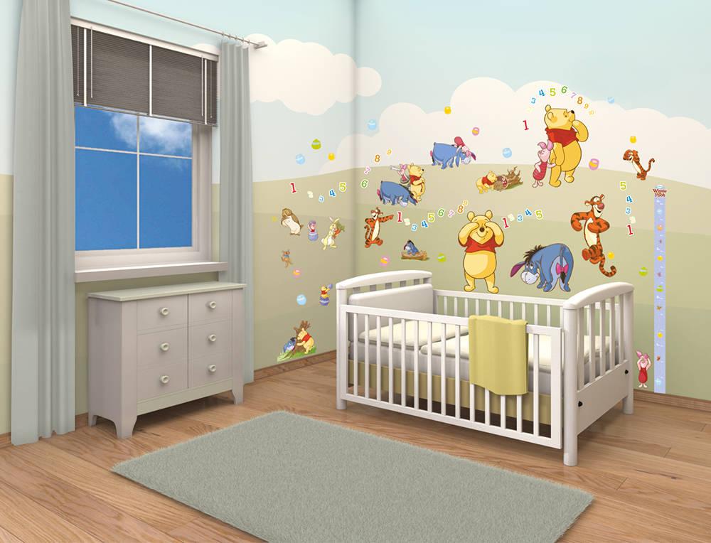 Chambre bébé winnie l\'ourson - Idées de tricot gratuit