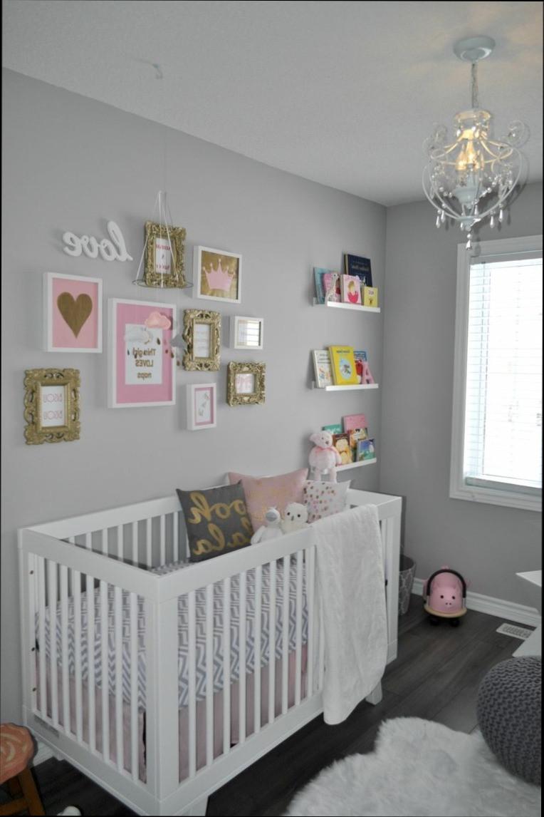 f79fb575d34d7 Chambre bebe fille mur gris - Idées de tricot gratuit