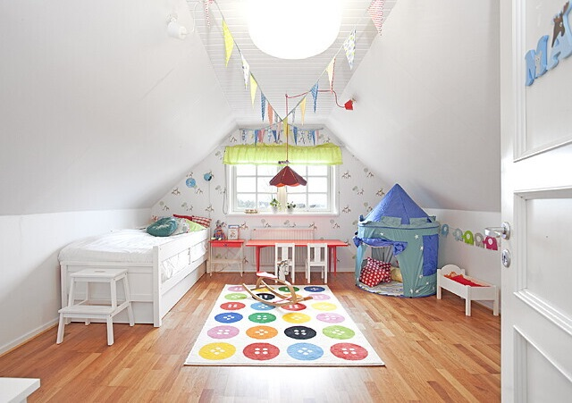 Peinture chambre bébé mansardée - Idées de tricot gratuit
