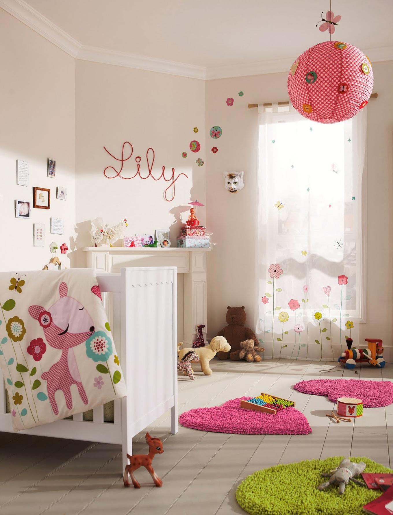d coration chambre b b fille faire soi m me id es de. Black Bedroom Furniture Sets. Home Design Ideas