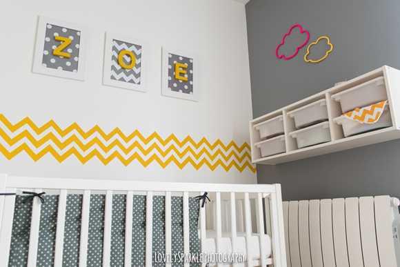 8 meilleures images du tableau Chambre bébé jaune et gris   Baby ...