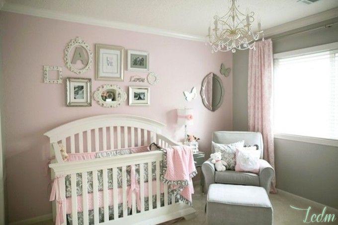 Chambre de bebe fille decoration