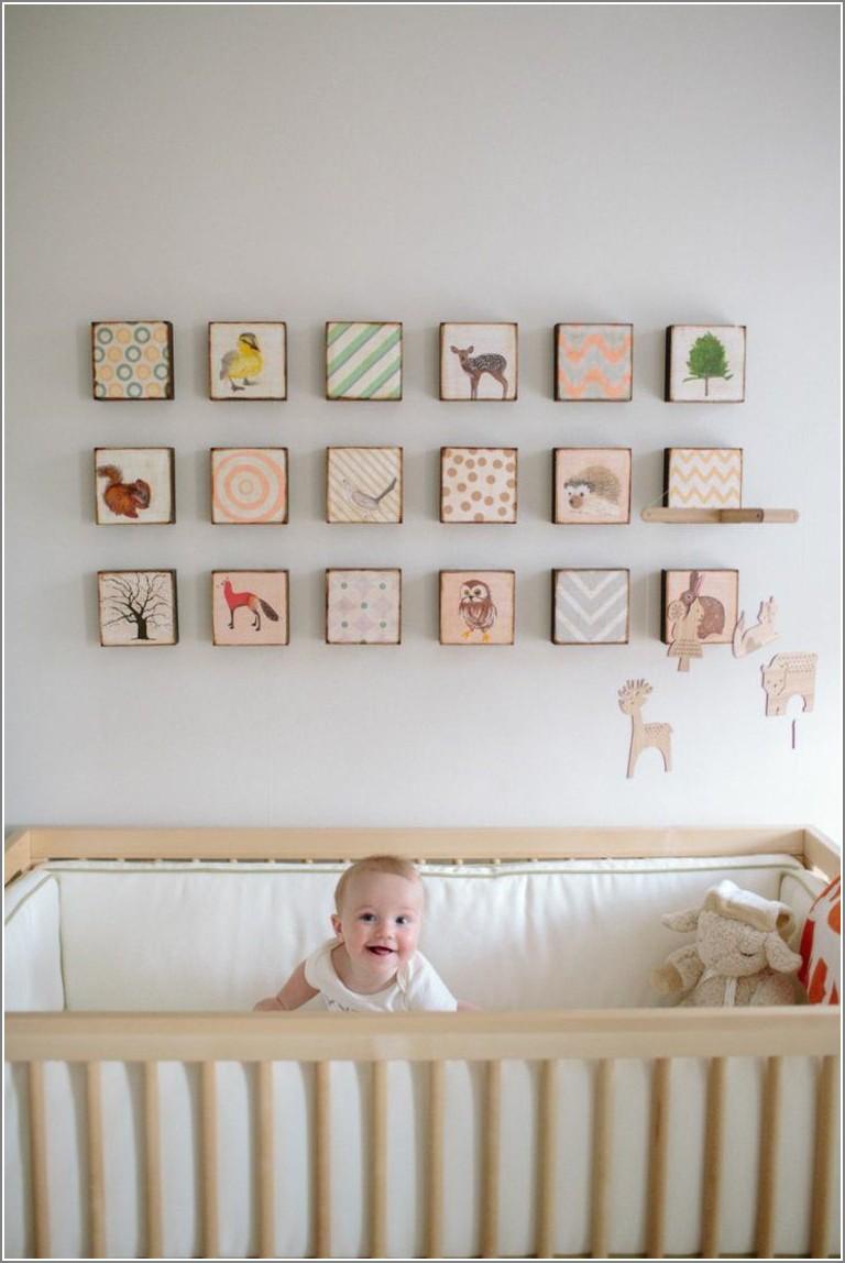 Décoration Chambre Bébé Cadre Idées De Tricot Gratuit