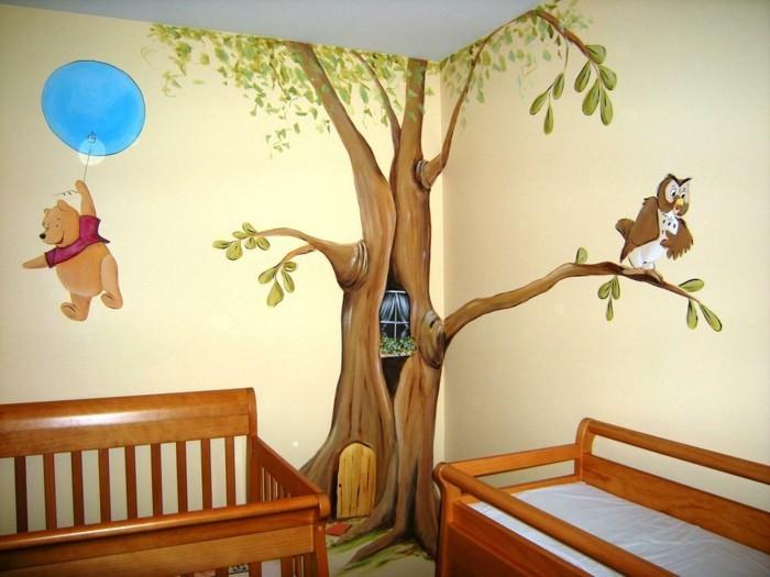 Chambre bebe decoration murale - Idées de tricot gratuit