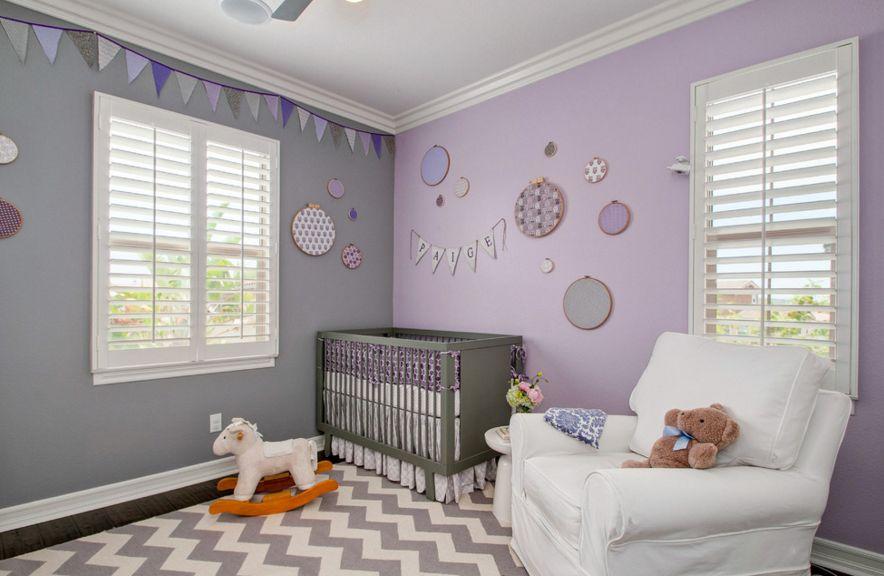 Quelle couleur dans la chambre de bébé - Idées de tricot gratuit