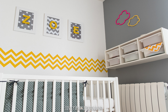 Chambre jaune et gris bebe - Idées de tricot gratuit