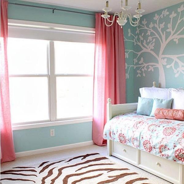 Chambre Bebe Fille Rose Vert Idees De Tricot Gratuit