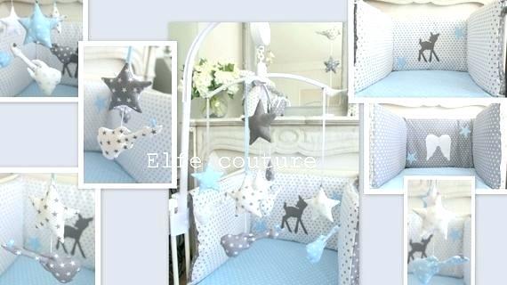 Chambre Bebe Gris Bleu
