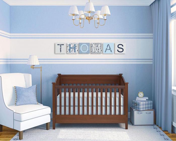Quelle couleur pour chambre bebe garcon - Idées de tricot ...