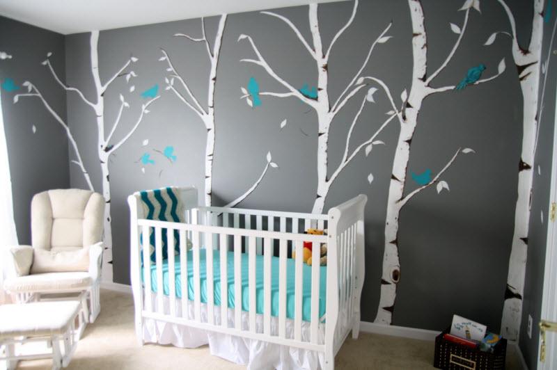 Deco chambre bebe bleu - Idées de tricot gratuit