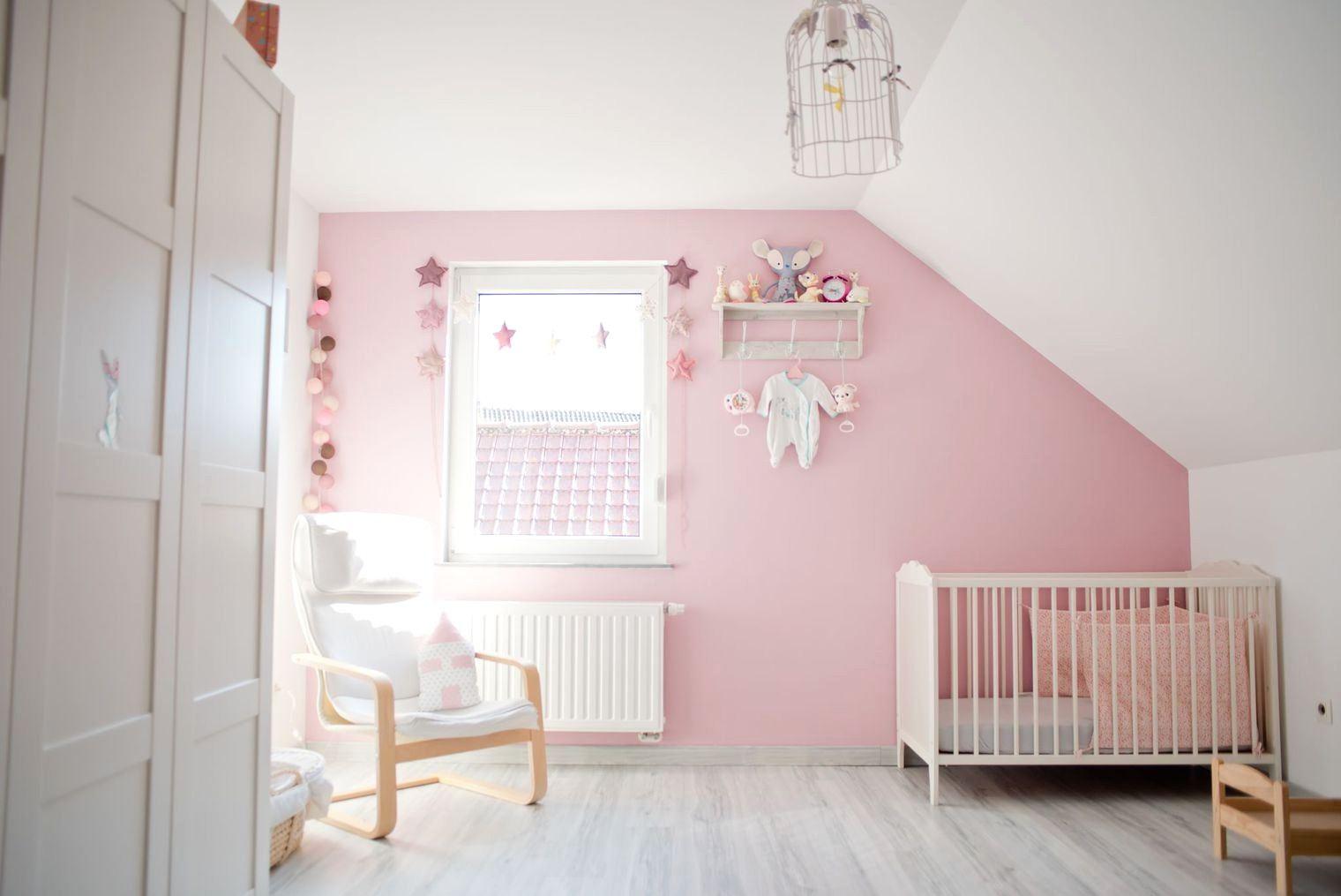 Chambre bebe blanc et rose id es de tricot gratuit - Chambre bebe gris blanc ...
