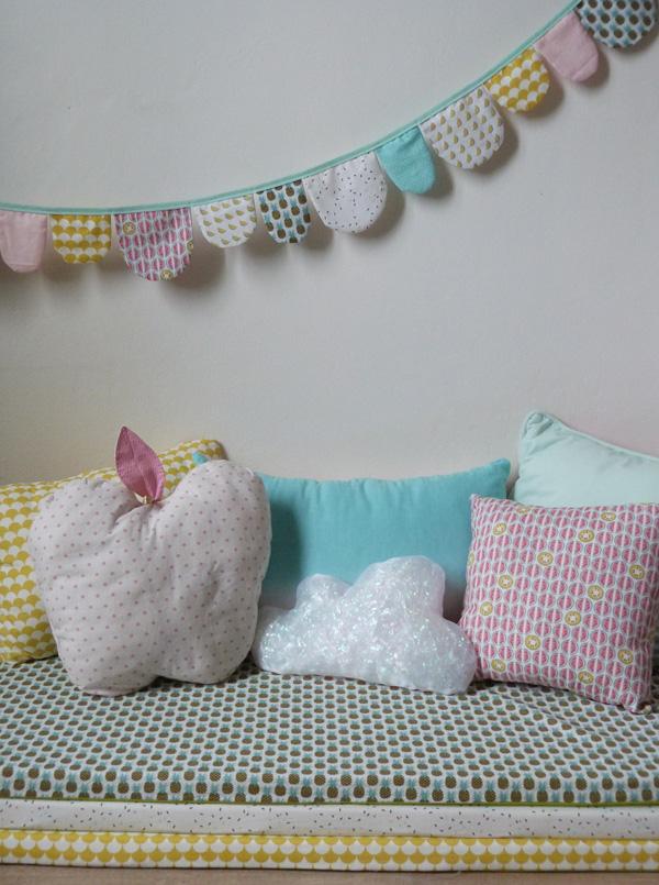 diy deco nuage chambre bebe id es de tricot gratuit. Black Bedroom Furniture Sets. Home Design Ideas