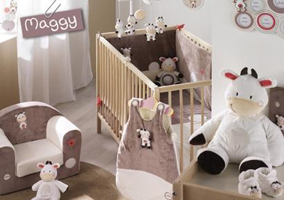 Chambre bébé marron rose - Idées de tricot gratuit