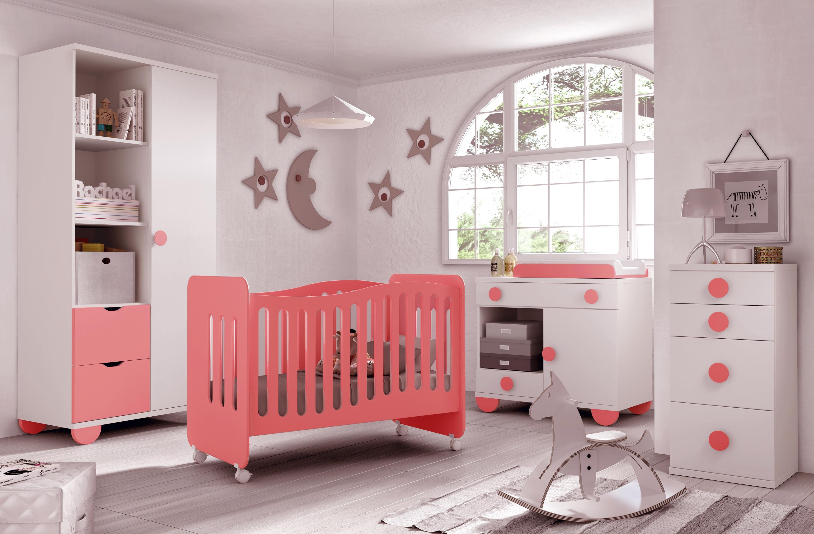 chambre pour bébé fille moderne - idées de tricot gratuit