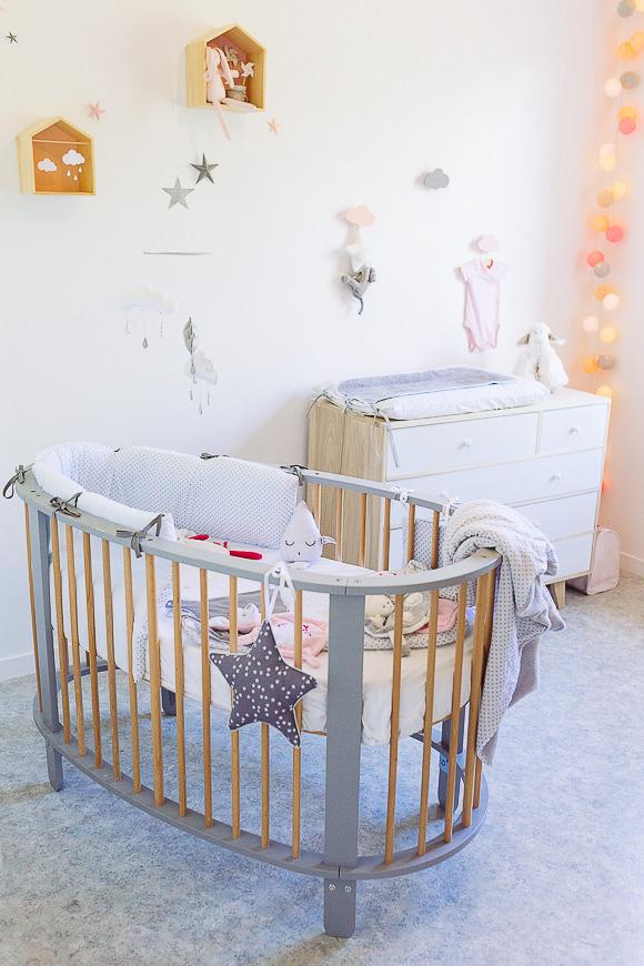 Chambre bébé orange pastel - Idées de tricot gratuit