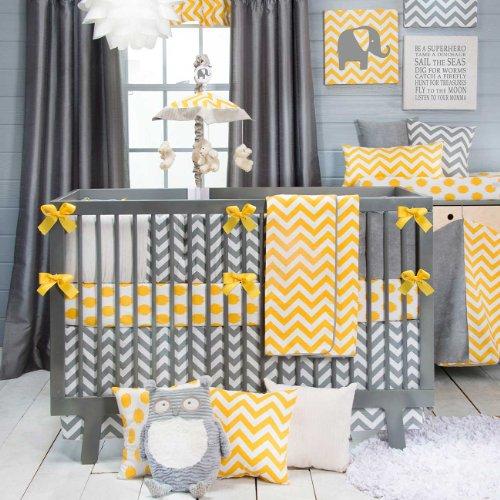 Chambre bebe jaune gris blanc - Idées de tricot gratuit