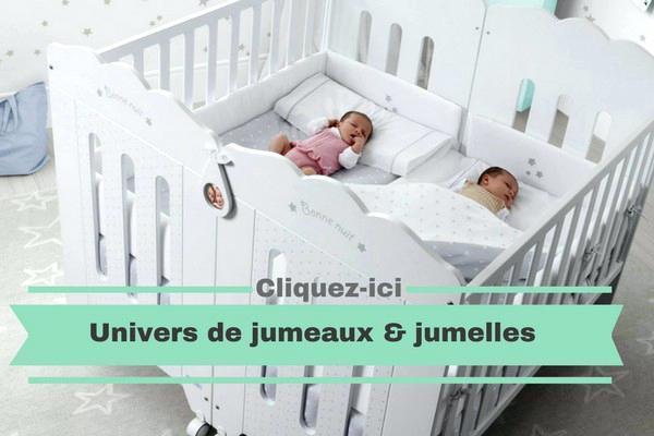 Lit pour bebe jumeaux pas cher