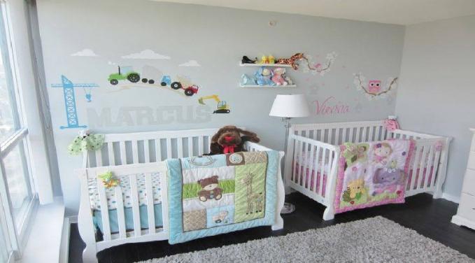 Mobilier chambre bébé jumeaux - Idées de tricot gratuit