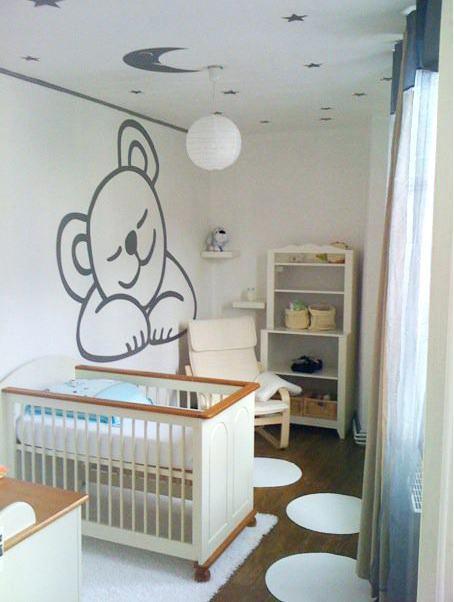 Chambre bébé tapisserie ou peinture