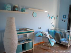 Emejing Turquoise Chambre Bebe 2 Pictures - House Interior ...