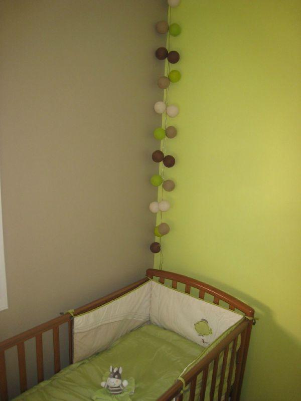 Deco chambre bebe marron et vert - Idées de tricot gratuit