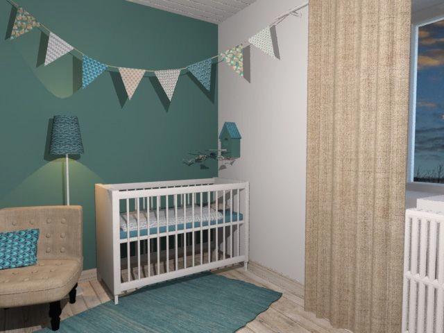 Chambre bebe taupe turquoise - Idées de tricot gratuit