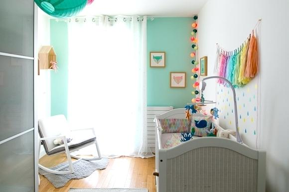 Chambre Bebe Vert Pastel Et Gris