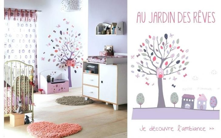 Attrayant Deco Chambre Bebe Fille Vertbaudet
