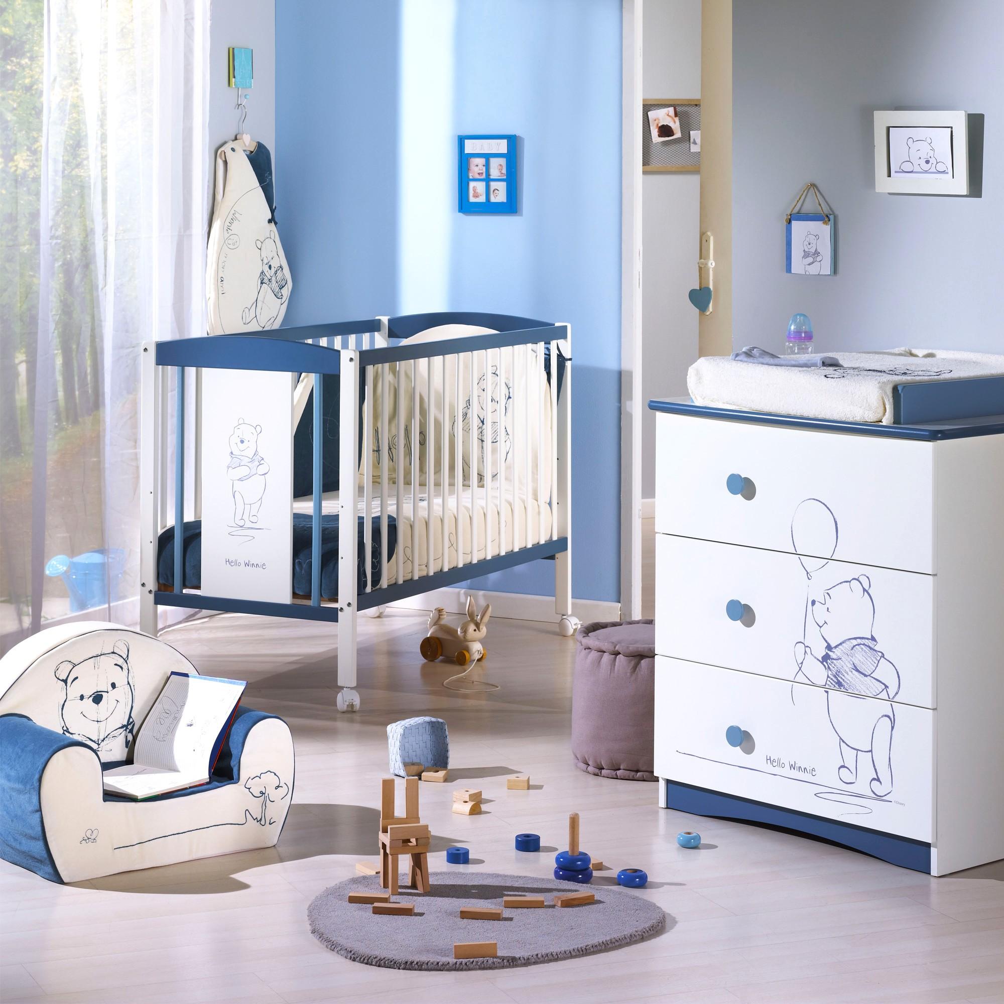Chambre a coucher bébé winnie l\'ourson - Idées de tricot gratuit