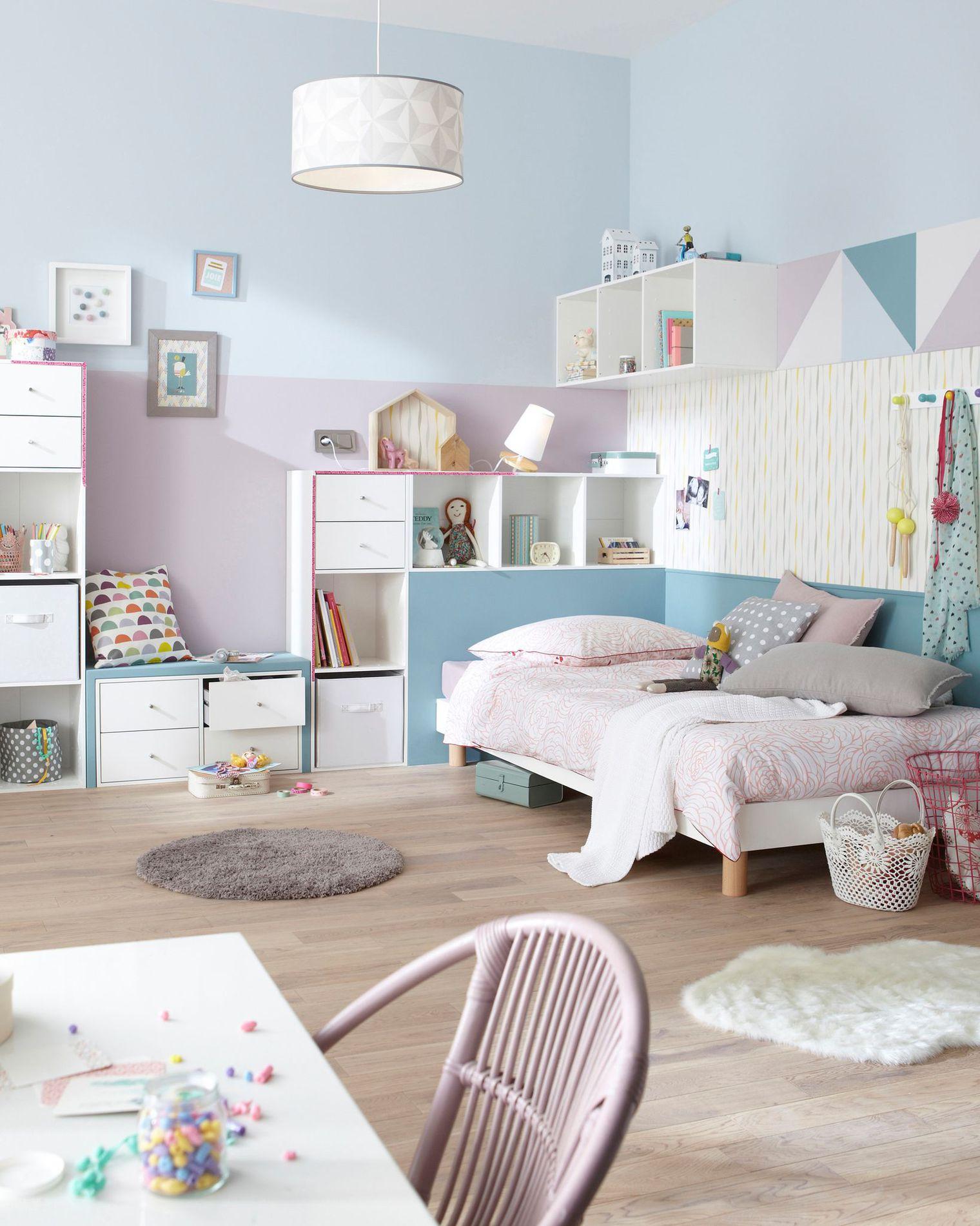 Peinture chambre bébé pastel