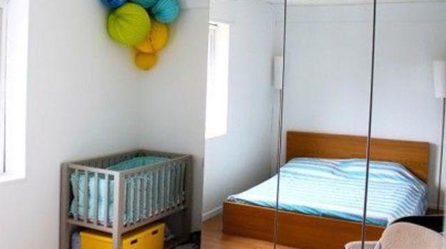 amenagement petite chambre parent bebe id es de tricot. Black Bedroom Furniture Sets. Home Design Ideas