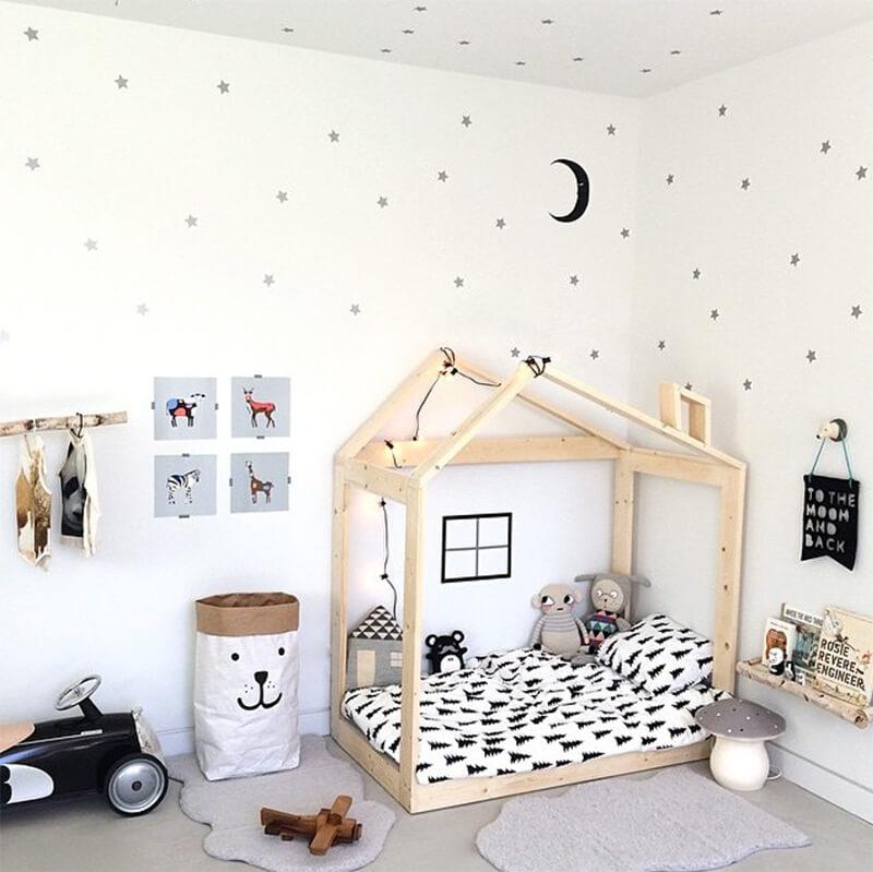 Deco scandinave chambre bebe fille - Idées de tricot gratuit