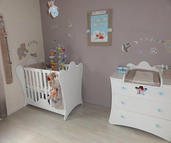 Exemple de decoration chambre bebe fille - Idées de tricot ...