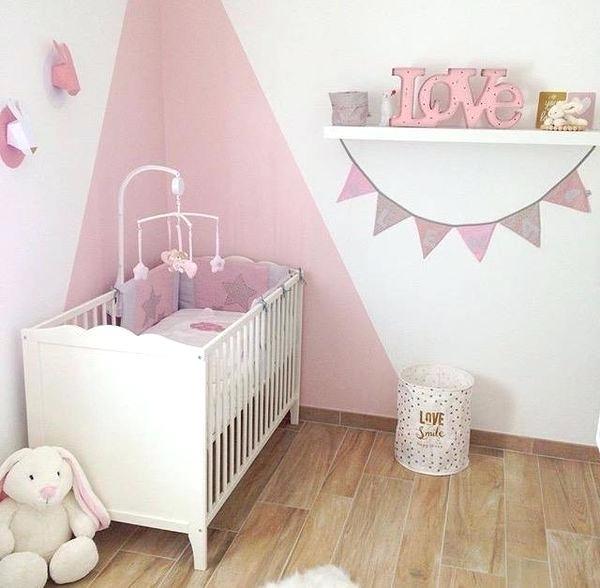 Incroyable Chambre Bebe Rose Gris Et Blanc