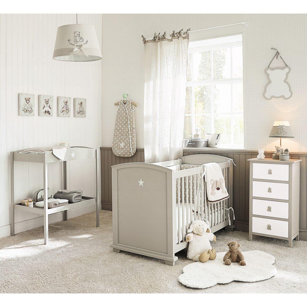 Idee Deco Chambre Bebe Taupe Et Blanc