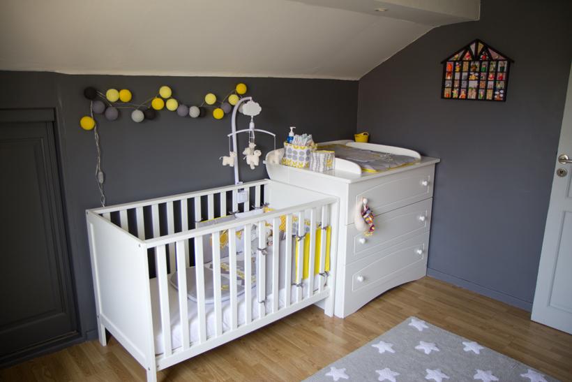 Chambre bébé peinture grise - Idées de tricot gratuit