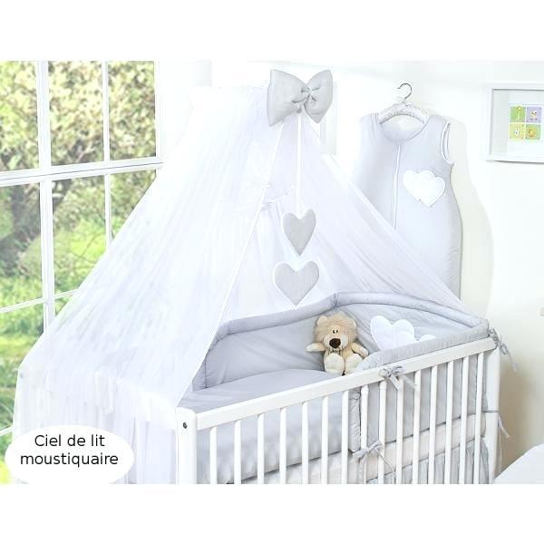 Cdiscount ciel de lit bebe