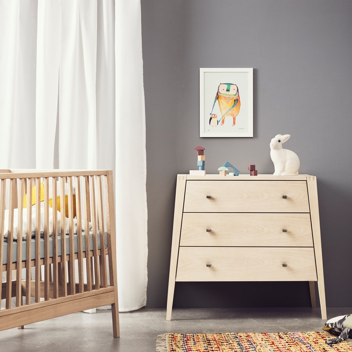 Commode chambre bebe bois massif - Idées de tricot gratuit