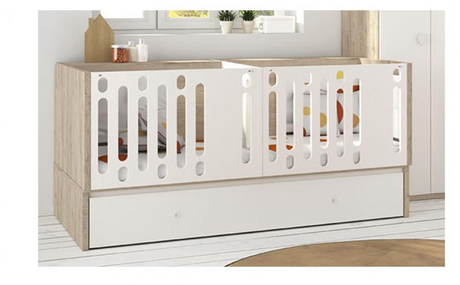 Beautiful Chambre Jumeaux Evolutive Images - House Design ...