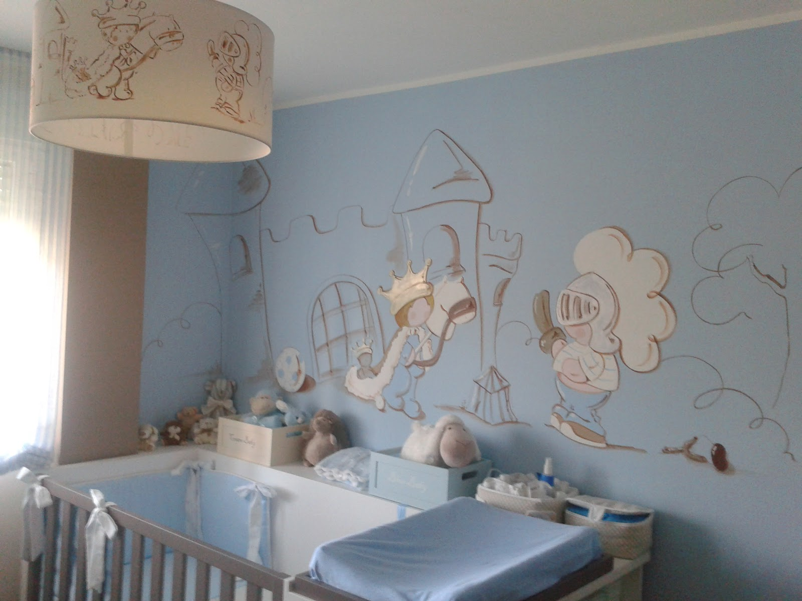 Peinture bleu pastel chambre bebe - Idées de tricot gratuit