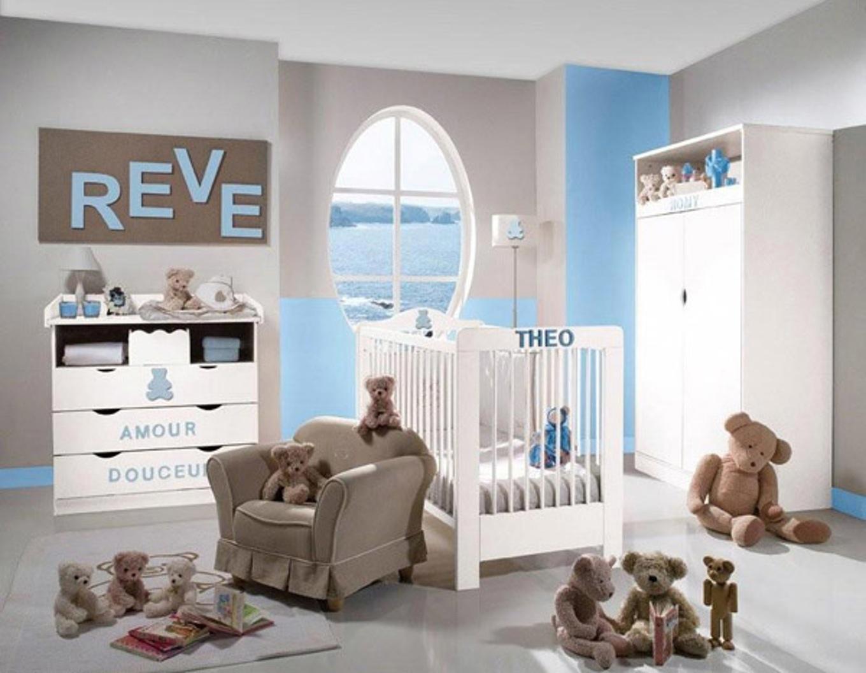 Idée de couleur pour chambre de bébé garcon - Idées de tricot gratuit
