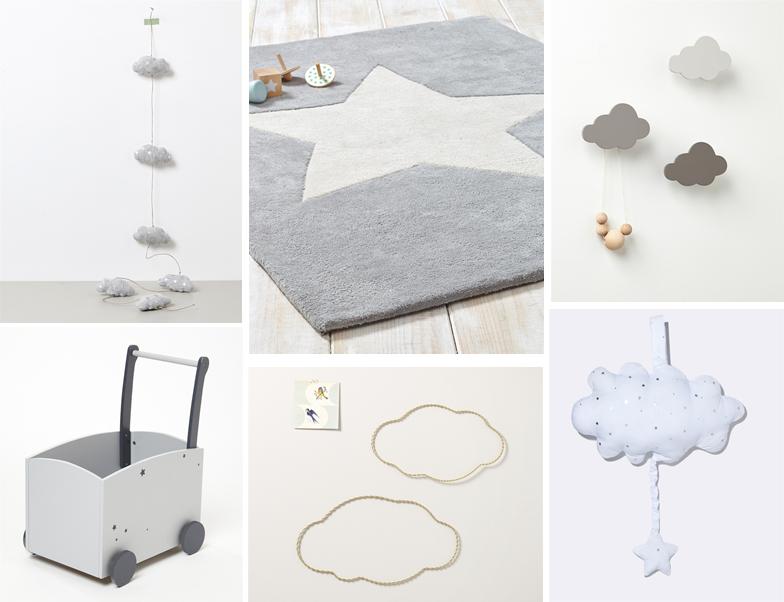 d coration nuage pour chambre b b id es de tricot gratuit. Black Bedroom Furniture Sets. Home Design Ideas