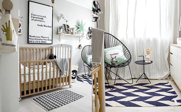 Idee chambre bebe scandinave id es de tricot gratuit - Chambre d hote avignon pas cher ...